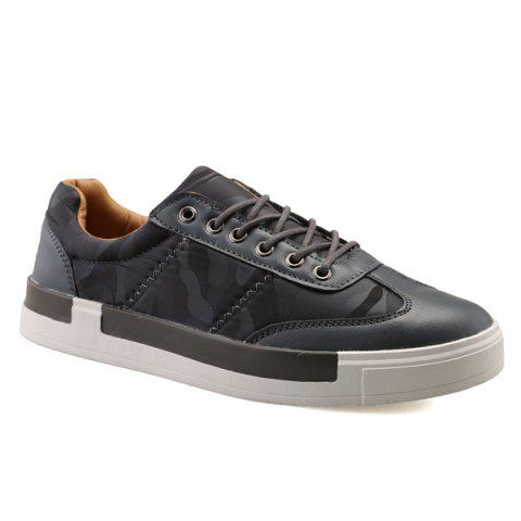 Fashion Sports Style Camouflage Print and Splice Design Casual Shoes For Men