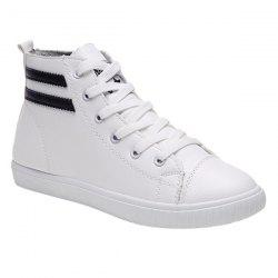 Casual Lace-Up and Round Toe Design Athletic Shoes For Women -
