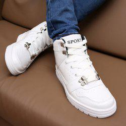 Trendy Tie Up and Breathable Design Casual Shoes For Men -