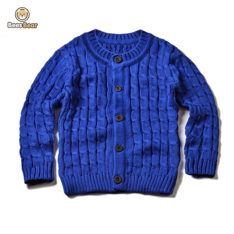 Latest Solid Color Single-Breasted Knitted Cardigan
