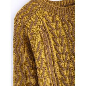 Vintage Twist Color Mixture Sweater -