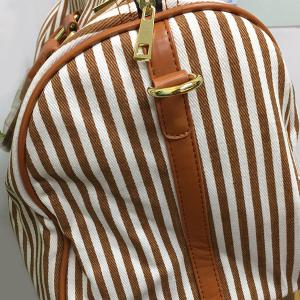 Casual Strip and Zip Design Tote Bag For Women -