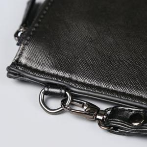 Casual Number and Black Design Clutches For Men -