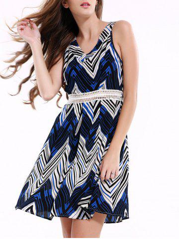 Best Stylish Sleeveless Zig Zag Dress For Women
