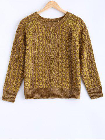 Shop Vintage Twist Color Mixture Sweater