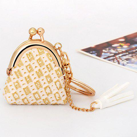 Buy Mini Bag Faux Leather Tassel Keyring