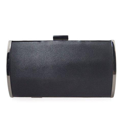 Trendy Stylish Clip Closure and Chains Design Evening Bag For Women
