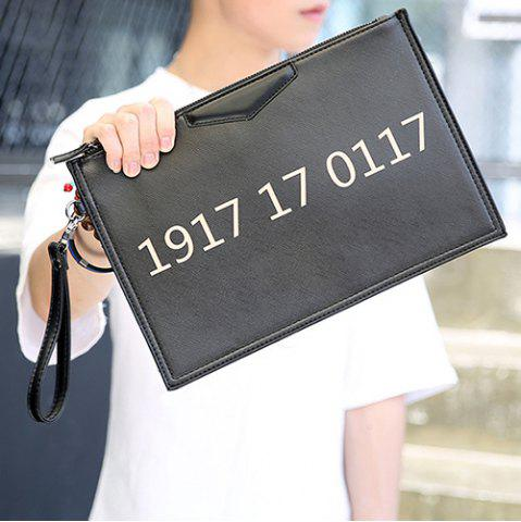 Best Casual Number and Black Design Clutches For Men