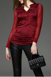 Embroidered Sheath Tee