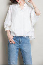 Cotton Dolman Sleeve Oversized Top