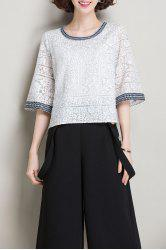 Lace Cotton Top