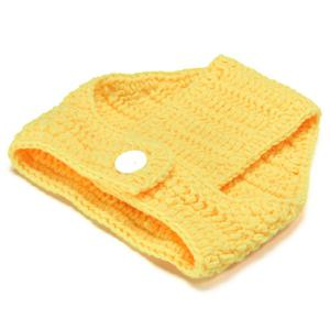 Knitted Duck Animal 3PCS Photography Baby Clothes Set -