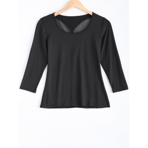 Mesh Panel Cut Out Top -
