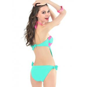 Halter One Piece Swimsuit With Padded Bra -