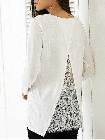 New Elegant Round Neck Long Sleeve Solid Color Blouse
