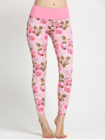 Trendy Trendy Women's Floral Print Yoga Leggings