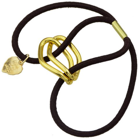 Buy Fashion Style Gold Plated Dimple Rhombus Charm Hair Band For Women - GOLDEN  Mobile