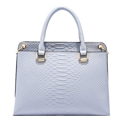 Best Trendy Metal and Embossing Design Tote Bag For Women
