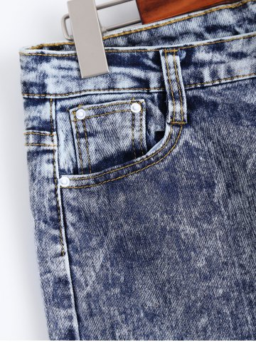 Buy Snow Wash Skinny Jeans - L COLORMIX Mobile