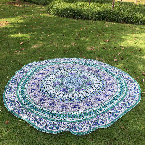 Vert Indian Elephant Plage Throw