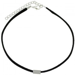 Punk Style Rectangle Bar Choker Necklace -