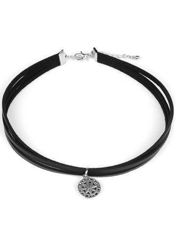 Outfit Punk Style PU Leather Choker