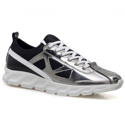 Trendy Color Block et Splice Design Athletic Shoes pour hommes -