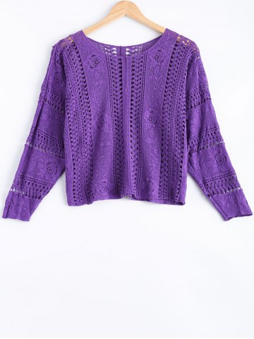 Affordable Cute Crochet Cropped Blouse