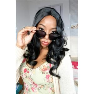 Women's Curly Fashion Long High Temperature Fiber Wig -