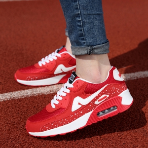 Fashionable Breathable and Tie Up Design Athletic Shoes For Women -