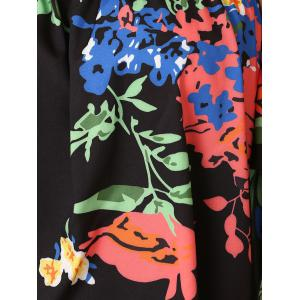 Stylish Floral Off-The-Shoulder Blouse For Women -