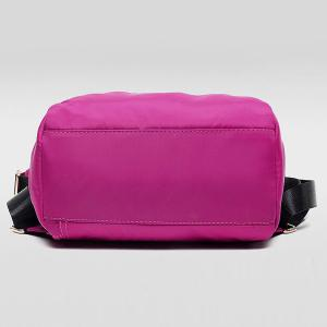 Simple Solid Colour and Nylon Design Backpack For Women -