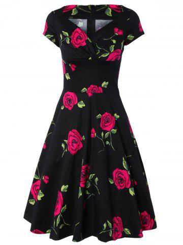Affordable Forever Love Rose Blossom Dress