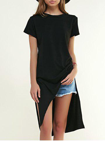 Chic Chic Side Slit High Low T-Shirt For Women