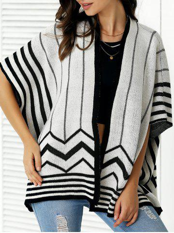 Best Fashionable Collarless Batwing Sleeve Cardigan For Women