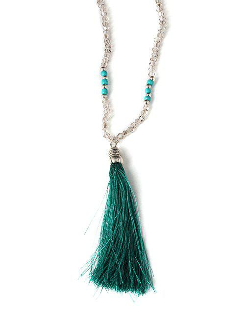 Fashion Tassel Beaded Sweater Chain