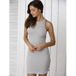 Lace Up Jumper Bodycon Club Dress -
