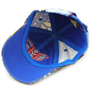 Stylish Letter M and Inverted Triangle Embroidery Doodle Pattern Baseball Hat For Kids -