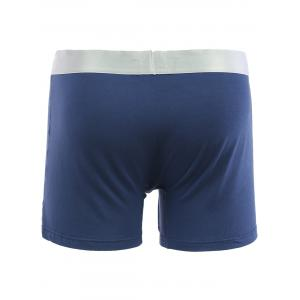 Cherlamode (Three Color) 3PCS U Pouch Design Solid Color Boxer Shorts For Men - COLORMIX XL