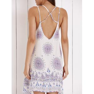 Strappy Backless Dress For Women -