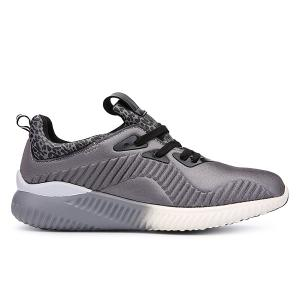 Fashion Lace-Up and Splicing Design Athletic Shoes For Men - GRAY 43