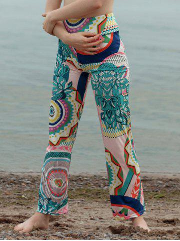 Best Colorful Tribal Pattern Straight Pants