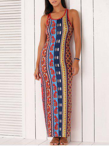 Outfits Ethnic Style Tribal Pattern Dress
