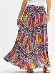 Ethinic Printed Skirt - COLORMIX XL
