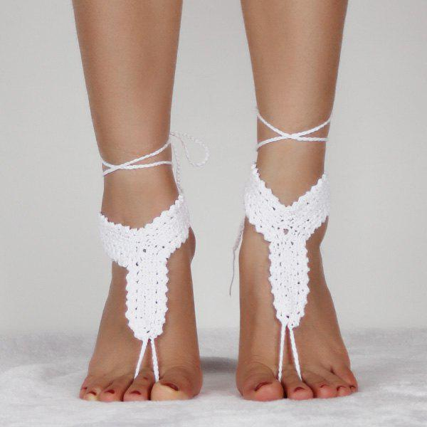 Outfit Handmade Crochet Rope Anklets