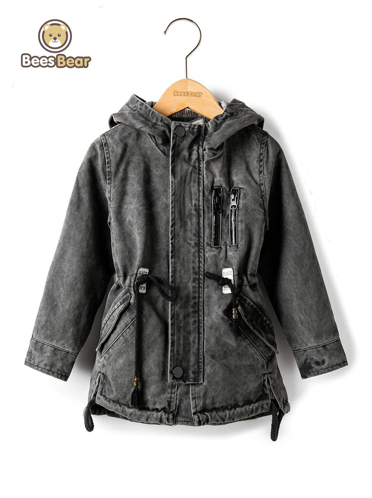 Best Stylish Hooded Pocket Design Drawstring Jacket
