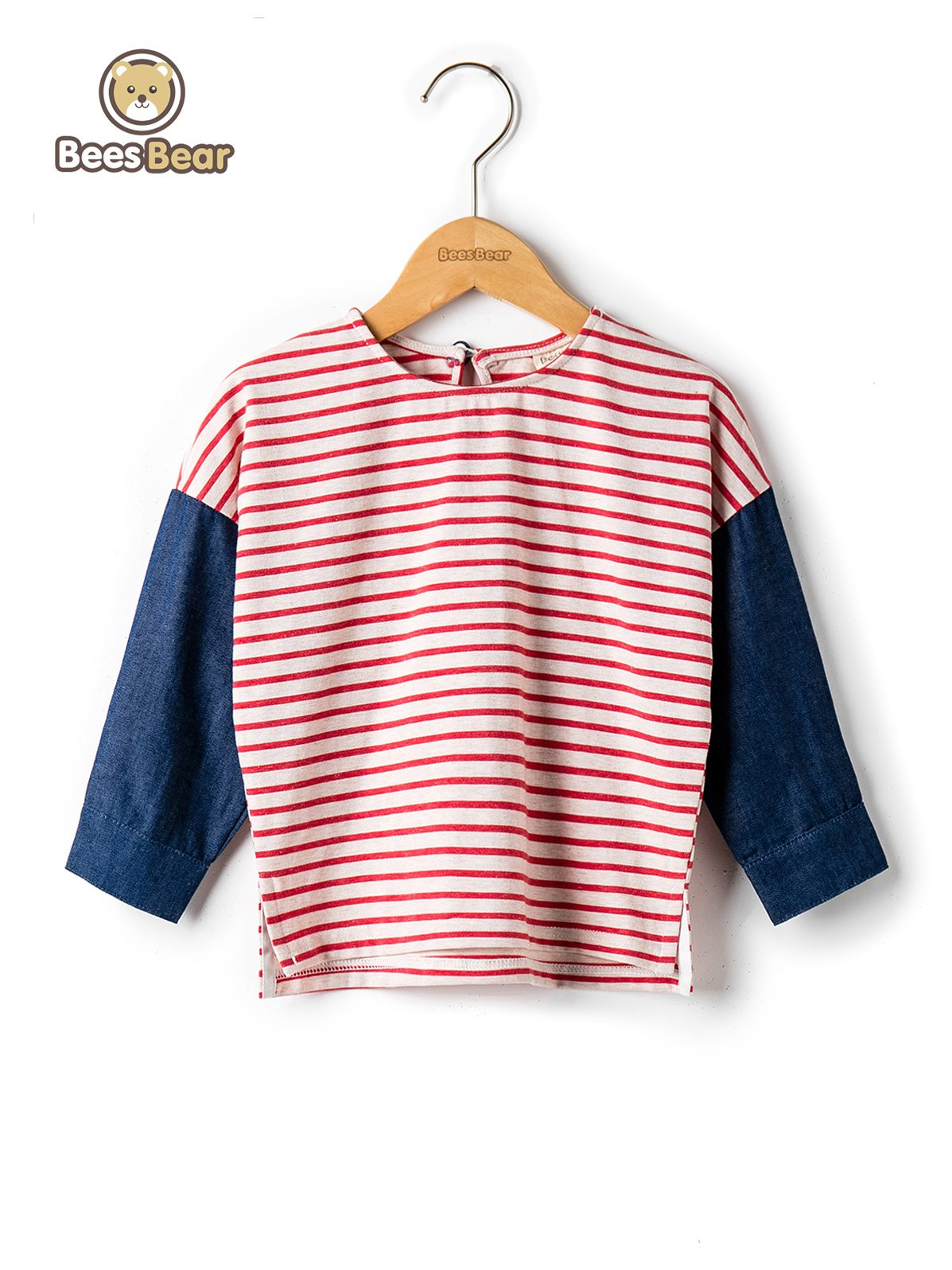 Trendy Stylish Color Block Striped T-Shirt