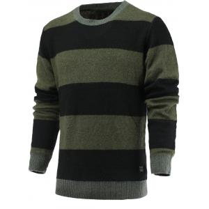Color Blocks Spliced Sweater