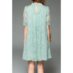 Brodé Gauzy Trapeze Dress -