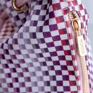Trendy Tiny Plaid and Splicing Design Shoulder Bag For Women -